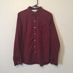 3/20 Old Navy The Classic Shirt Snowflake